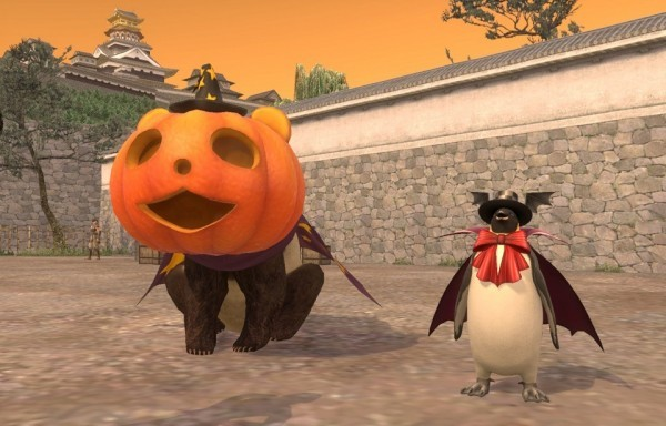 和風オンラインMMORPG『信長の野望Online』 「キラッ☆と変身!戦国ハロウィン祭り」を開催したぞ~!!!!