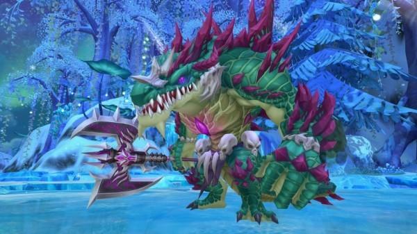 クロスジョブファンタジーMMORPG『星界神話』 新たな世界ボス暴威の覇王「バグー」を実装