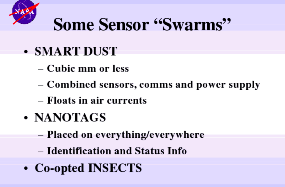 NASAが公表したスマートダスト