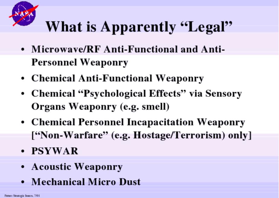 ナサの合法的武器
