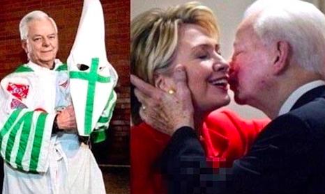 クリントンとバード議員