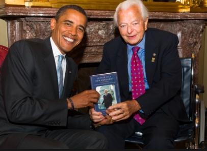 バード議員とオバマ