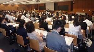 日本スポーツ学会・講演の模様1