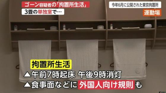 カルロス・ゴーン グレッグ・ケリー 東京拘置所 日産自動車 金融商品取引法違反