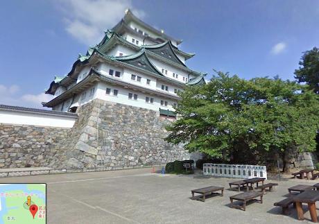 名古屋城天守閣内部、グーグルのストリートビューで閲覧可能に … 木造復元後も誰でもバリアフリーで閲覧可能
