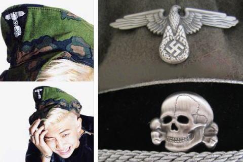 """韓国アイドル防弾少年団(BTS)の炎上騒動、メンバーがかぶっていた""""ドクロマーク付き鈎十字""""の帽子はナチスSS(親衛隊)で言い逃れ出来ない状況に"""