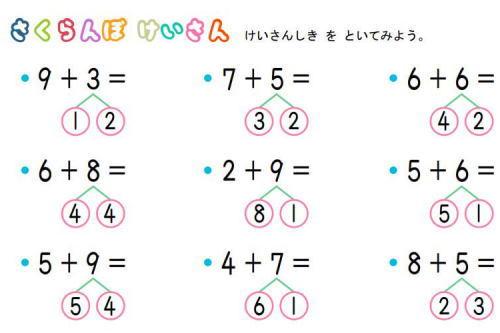 小学生の親「小学校の算数で『さくらんぼ計算』というやり方を強いられている。テストで計算部分を省略したら全部1点ずつ引かれいて笑えない。計算方法についての指示は無かった(画像)」