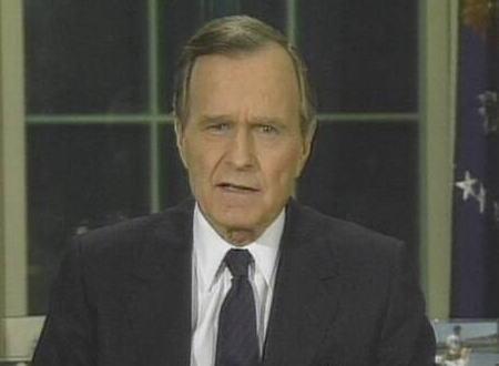 米ブッシュ元大統領死去 94歳 … CIA長官・レーガン政権の副大統領を経て1989年に第41代アメリカ大統領に就任、1991年の湾岸戦争で多国籍軍を主導