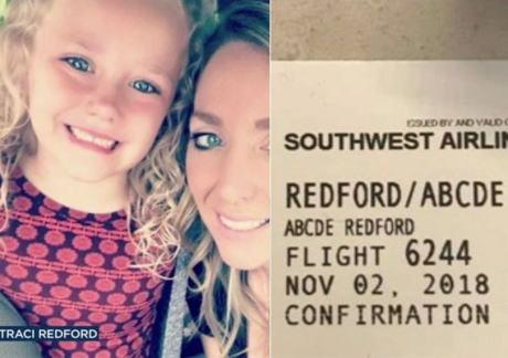 サウスウエスト航空の搭乗ゲートの職員、5歳の女の子の名前「Abcde(アブシディー)」を嘲笑し、搭乗券の写真をFacebookにアップ→ サウスウエスト航空が謝罪