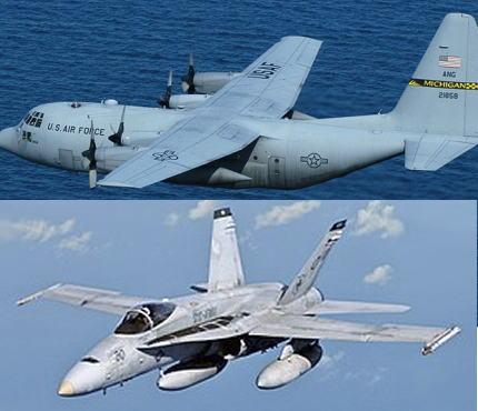 岩国基地所属の米海兵隊FA-18とC-130輸送機、高知県の室戸岬の南上空で空中給油中に事故を起こし海に墜落 … 2機には合わせて7人が搭乗、1人が救助されたという情報