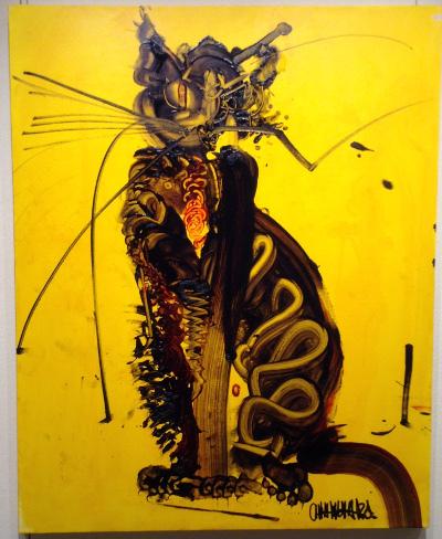 木原千春 Black cat