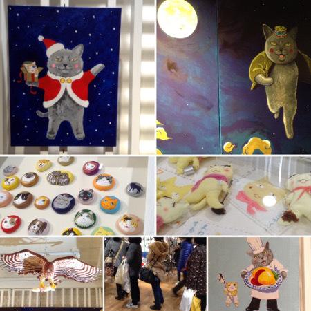 夜廻り猫のクリスマス展