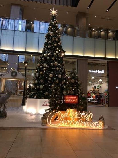 クリスマスツリー~@赤れんがテラス①