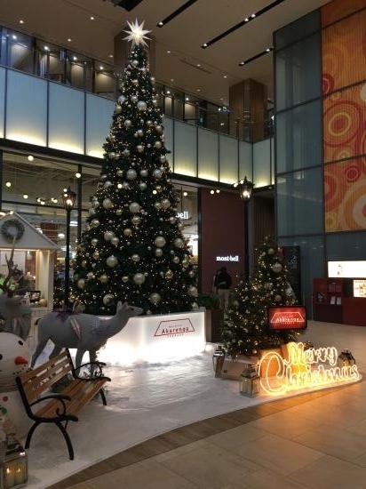 クリスマスツリー~@赤れんがテラス②