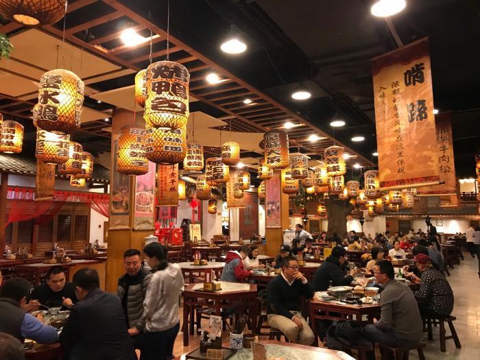 中国出張201712_南京料理店