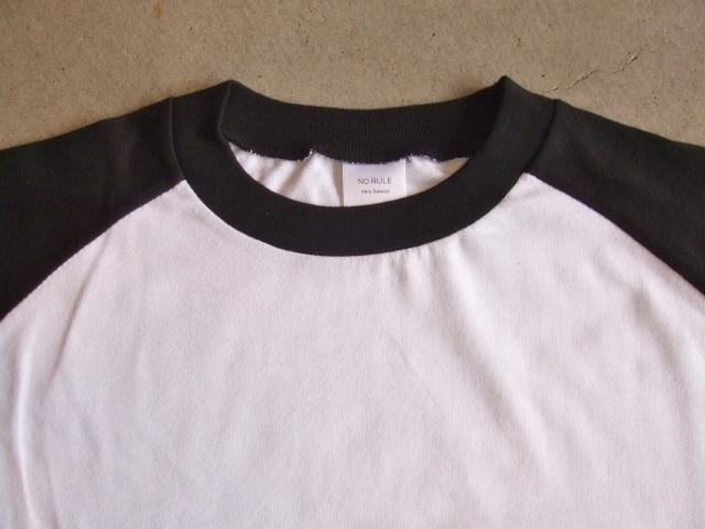 NORULE Raglan sleeve tee VerySpecial white1