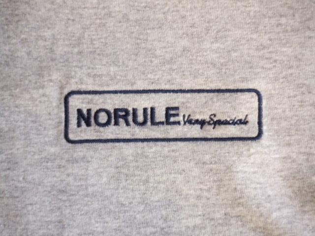 NORULE Raglan sleeve tee VerySpecial gray2