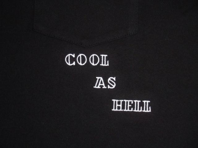 NORULE Poket Tee Cool As Hell Black2
