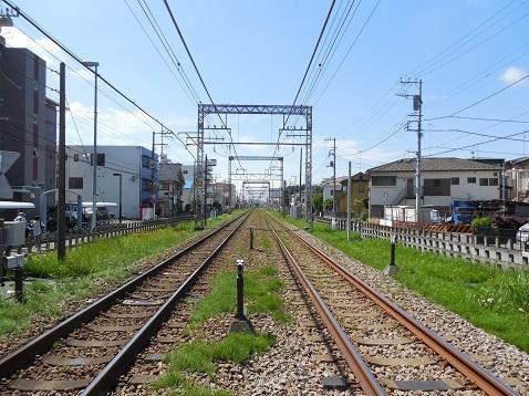 小田急江ノ島線の桜ヶ丘8号踏切@大和市e