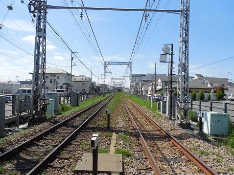 小田急江ノ島線の桜ヶ丘10号踏切@大和市e