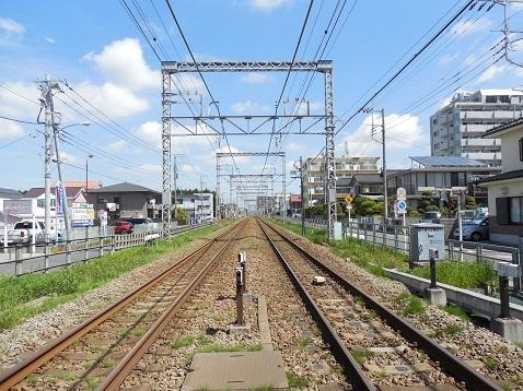 小田急江ノ島線の桜ヶ丘10号踏切@大和市d