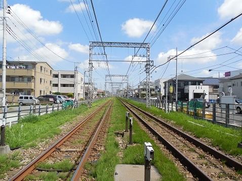 小田急江ノ島線の桜ヶ丘11号踏切@大和市c