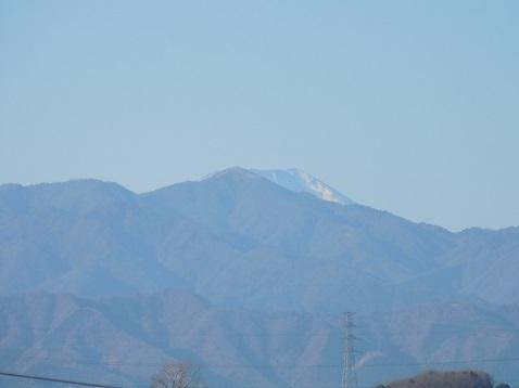 町田市能ヶ谷6丁目から見た富士山@町田市b