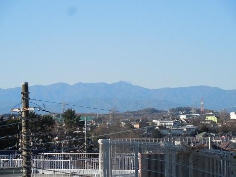 町田市能ヶ谷6丁目から見た富士山@町田市a