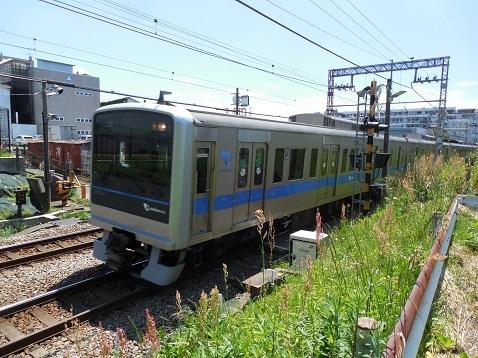 小田急江ノ島線の大和3号踏切@大和市f