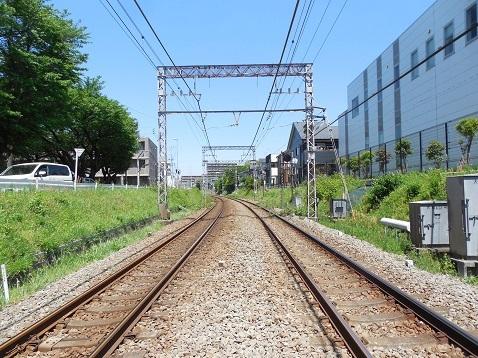 小田急江ノ島線の大和3号踏切@大和市d