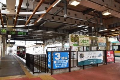 新庄駅3番線ホーム