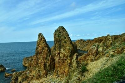 行合崎海岸奇岩