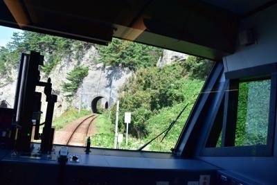JR東日本一短いトンネル仙北岩トンネル