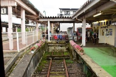 終点角館駅
