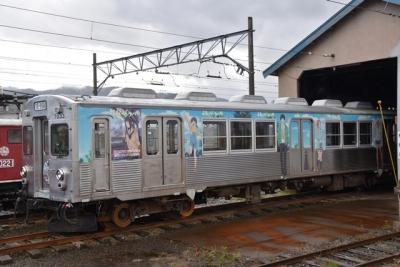 ふらいんグうぃっちラッピング電車