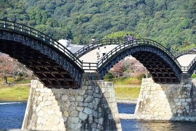 錦帯橋近景