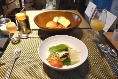 朝食は洋食にしました 瑞風
