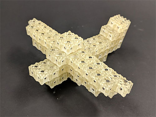 3次元物体造形装置を開発