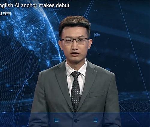 新華社通信にAIキャスター