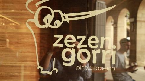 02059M Bar Zezen Gorri en Plaza Nueva
