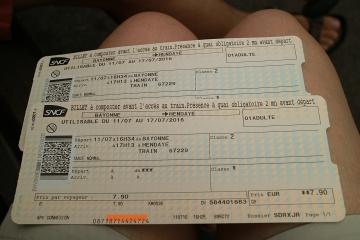 03166M Gare de Bayonne