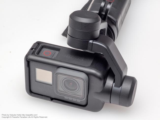 GoPro HERO5 BLACK + KARMA GRIP 合体