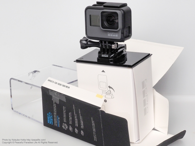GoPro HERO5 BLACK 開封