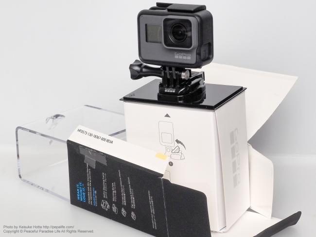 GoPro HERO5 BLACK 開封