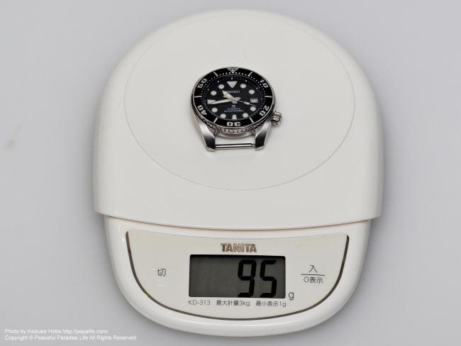 SEIKO PROSPEX SBDC031 SUMO ケースのみ重量計測 95g