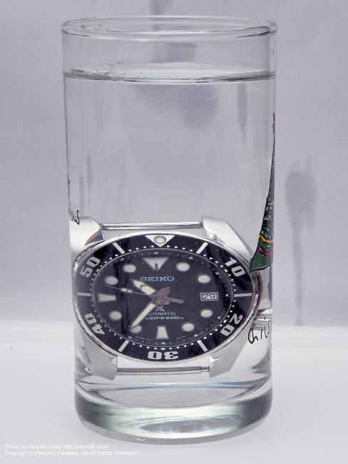SEIKO PROSPEX SBDC031 SUMO 防水試験(防水検査)