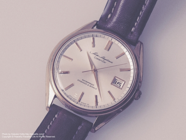 SEIKO SKYLINER CALENDAR Antique watch