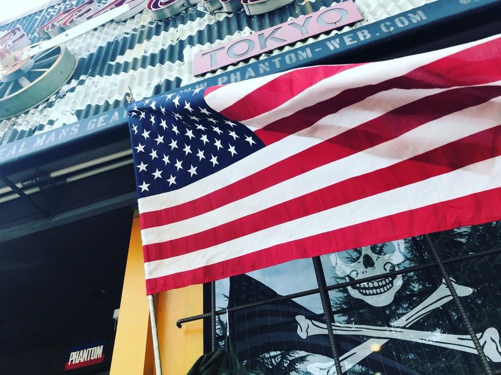 アメリカ国旗!【横田店】