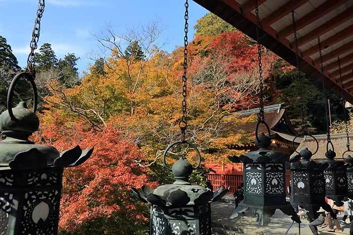 談山神社 紅葉4