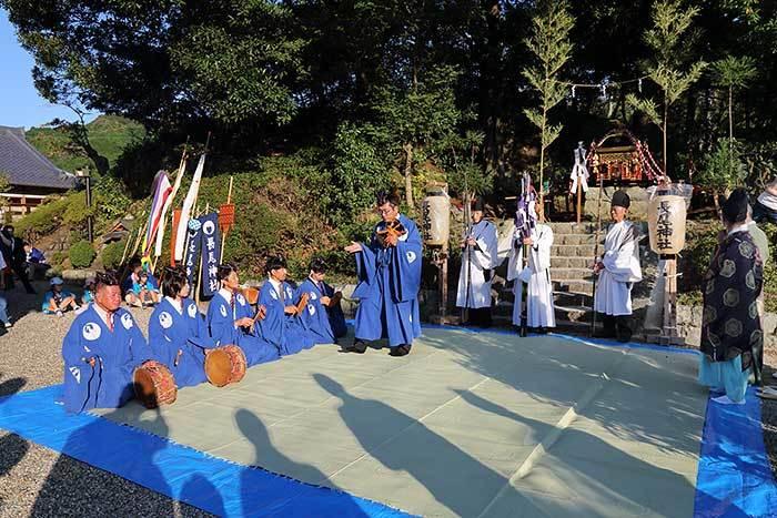 阪原長尾神社 秋祭り1